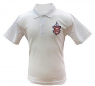 Holy Trinity White Polo Shirt (with Logo)