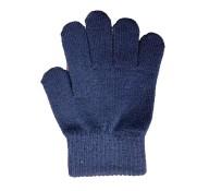 Plain Navy Gloves
