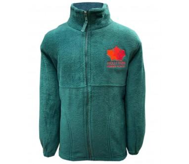 Holly Park Green Fleece (with Logo)