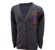 St. Theresa's Girls Navy Cardigan (with Logo)