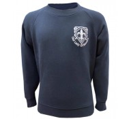 Our Lady of Muswell Hill Navy Sweat Shirt with logo