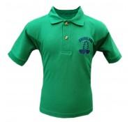 Brookland Green Polo Shirt (with Logo)