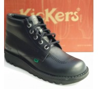 Unisex Kickers Black Boot