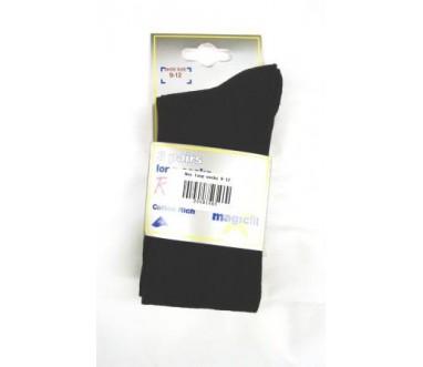 Plain Navy Knee Length Socks (3 Pairs)